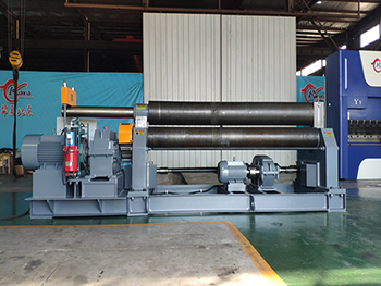 Plate Symmetric 3 Rolling Bending Machine